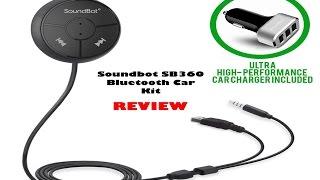 SoundBot SB360 Bluetooth Car Kit Review