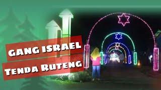 Download LAMPU NATAL GANG ISRAEL  TENDA RUTENG FLORES NTT