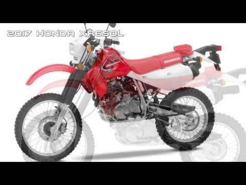 2017 Honda XR650L Dual Purpose Bike BEST Dual Sport Motorcycles
