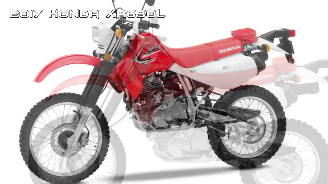 2017 Honda XR650L Dual Purpose Bike BEST Dual Sport Motorcycles