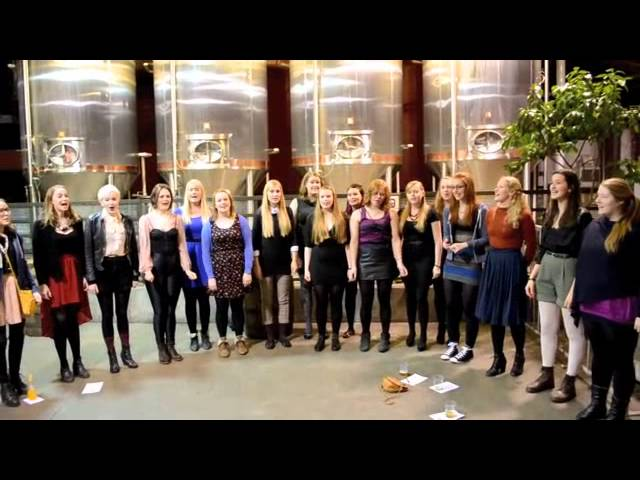 Bjork's Choir Serenades Brooklyn Brewery
