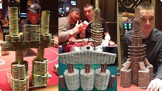 Poker Vlog: Chip Stacking 101. How to make CRAZY towers!