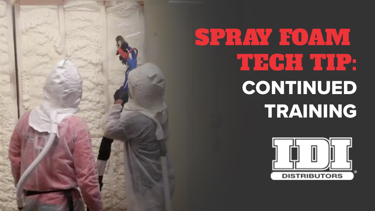 The Benefits Of Spray Foam Insulation Training Youtube