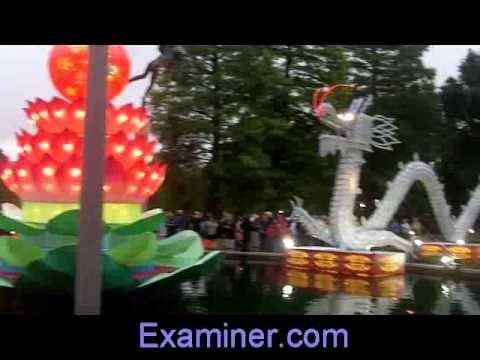 Chinese Lantern Festival at St. Lous's Missouri Botanical Garden