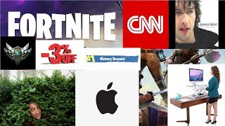 Fortnite: Night of Forts Part 1: CNN exclusive ft. RealJamesBlunt and DJ Kno6