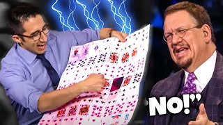 FAMOUS MAGICIAN SHOCKS PENN & TELLER WITH INSANE ILLUSION!! REVEALED!! | FOOL US EXPOSED!