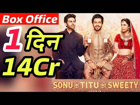 Sonu Ke Titu Ki Sweety 1st Day Outstanding Collection | Box Office Collection