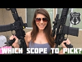 Magnified vs. Red Dot - Rifle Scopes Explained!