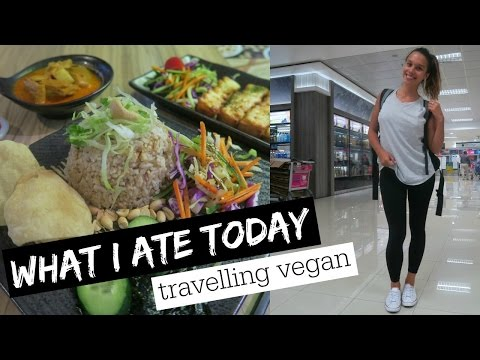 WHAT I ATE TRAVELLING TO THAILAND | Vegan