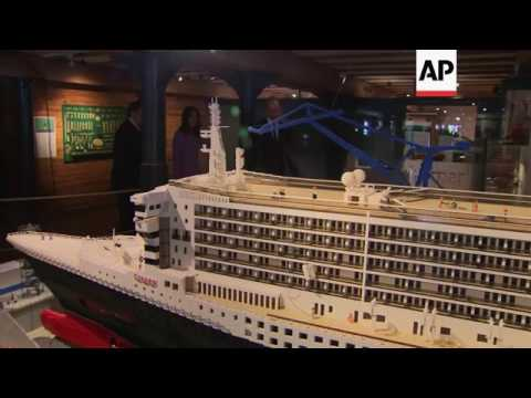 UK royals visit maritime museum in Hamburg