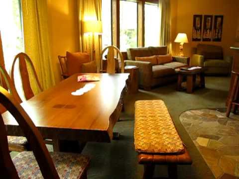 Saratoga Springs Treehouse Villas Room Tour, Walt Disney World - Disney Vacation Club DVC