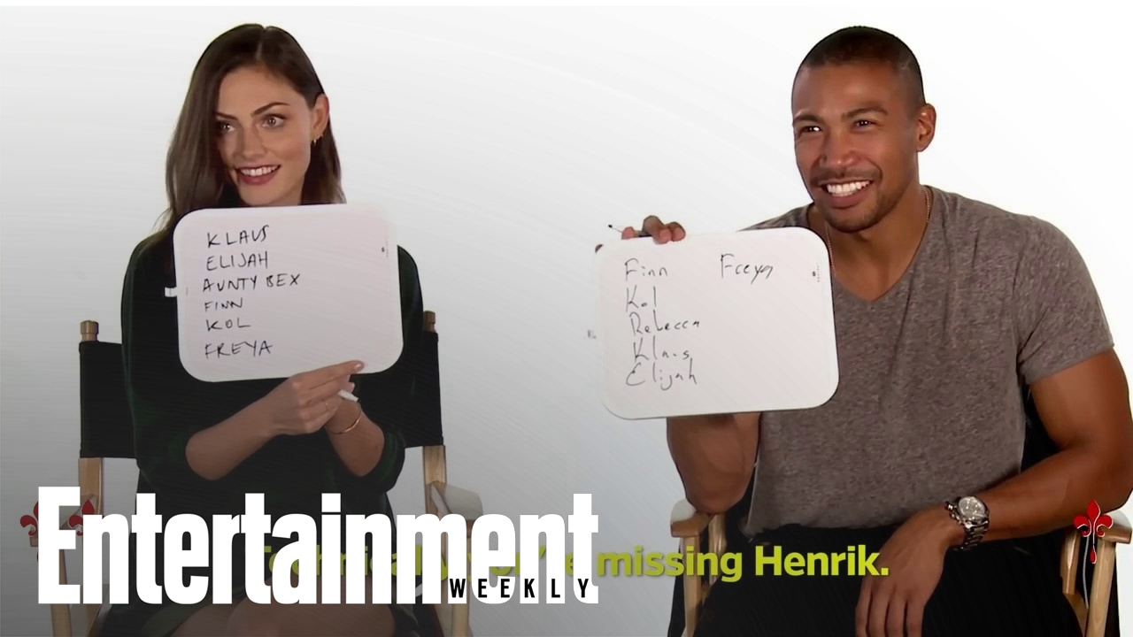 The Originals How Well Does The Cast Know The Show Entertainment Weekly