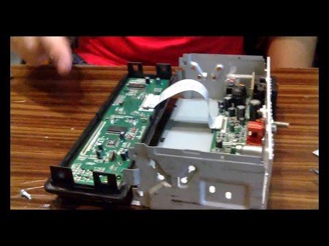 Про магнитолы #1 SUPRA SFD-85U - ремонт