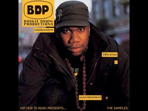 Boogie Down Productions - Love's Gonna Get'cha (Material Love) Lyrics on screen