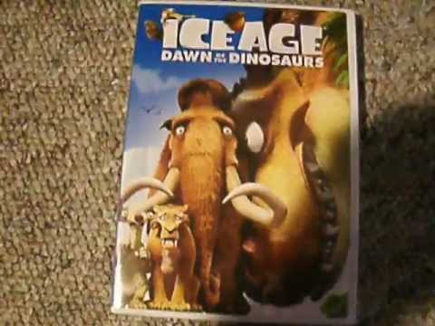 Ice Age: Dawn Of The Dinosaurs - DVD Unboxing