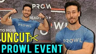 UNCUT - Tiger Shroff At The Launch Of Clothing Brand Prowl | FULL EVENT