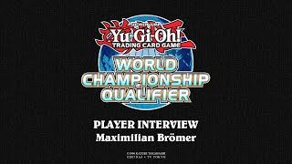 2018 WCQ: European Championship - Player Interview - Maximilian Brömer thumbnail