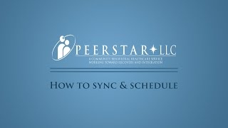 How to Sync & Schedule