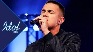 Liam Cacatian Thomassen sjunger Sure Thing i Idol 2016 - Idol Sverige (TV4)