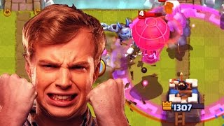 Let's Play Clash Royale #72: LAG = RAGE.