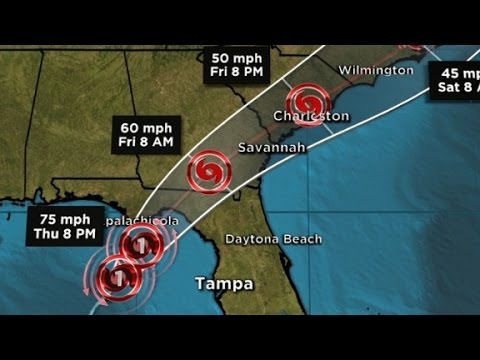 Florida braces for Hurricane Hermine