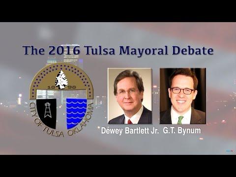 RSU TV Tulsa Mayoral Debate - June 1, 2016 - Full Broadcast
