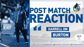 Reaction: Darrell on Burton