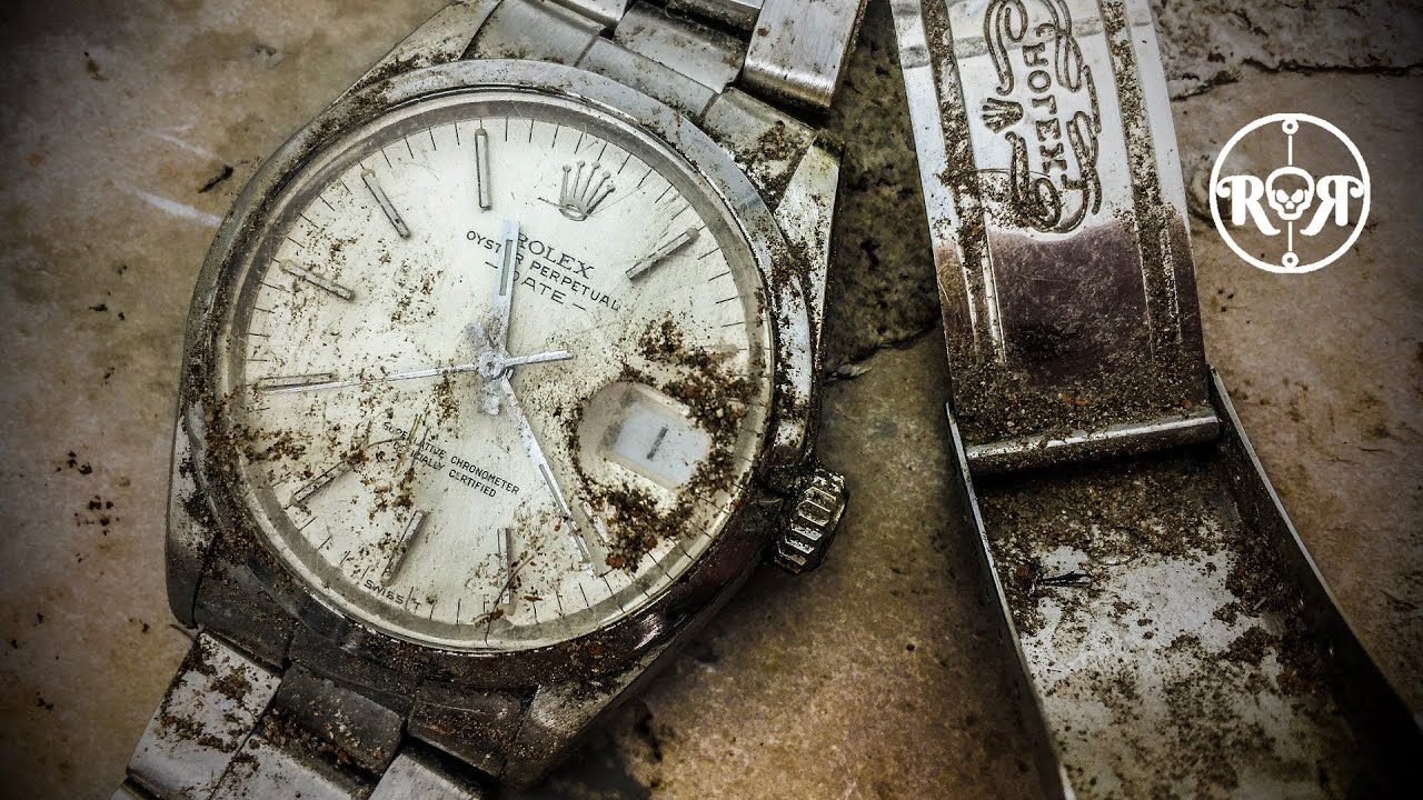 Restoration of a Vintage Rolex Oyster Perpetual Date - Ref 1500 Caliber 1570