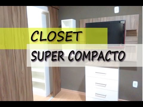 Closet para espa os pequenos youtube for Ideas para closets pequenos