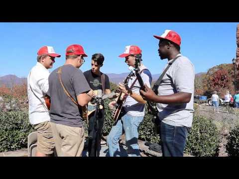 Pickin & a Stringin at Camp Cedar Cliff in Asheville NC