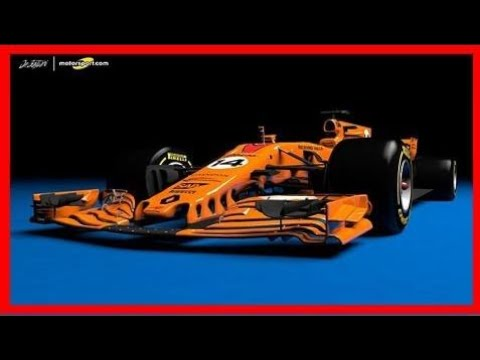 Breaking News   What a papaya orange 2018 mclaren-renault f1 car should look like