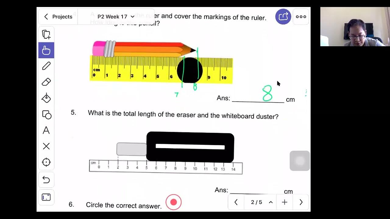 P2 Math : Length (Test)