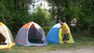Палатки для зимней рыбалки - сравнение(Попытка сравнения Палаток для зимней рыбалки, одинаковых по размеру, но разных по характеристикам и исполн..., 2015-08-18T13:25:19.000Z)