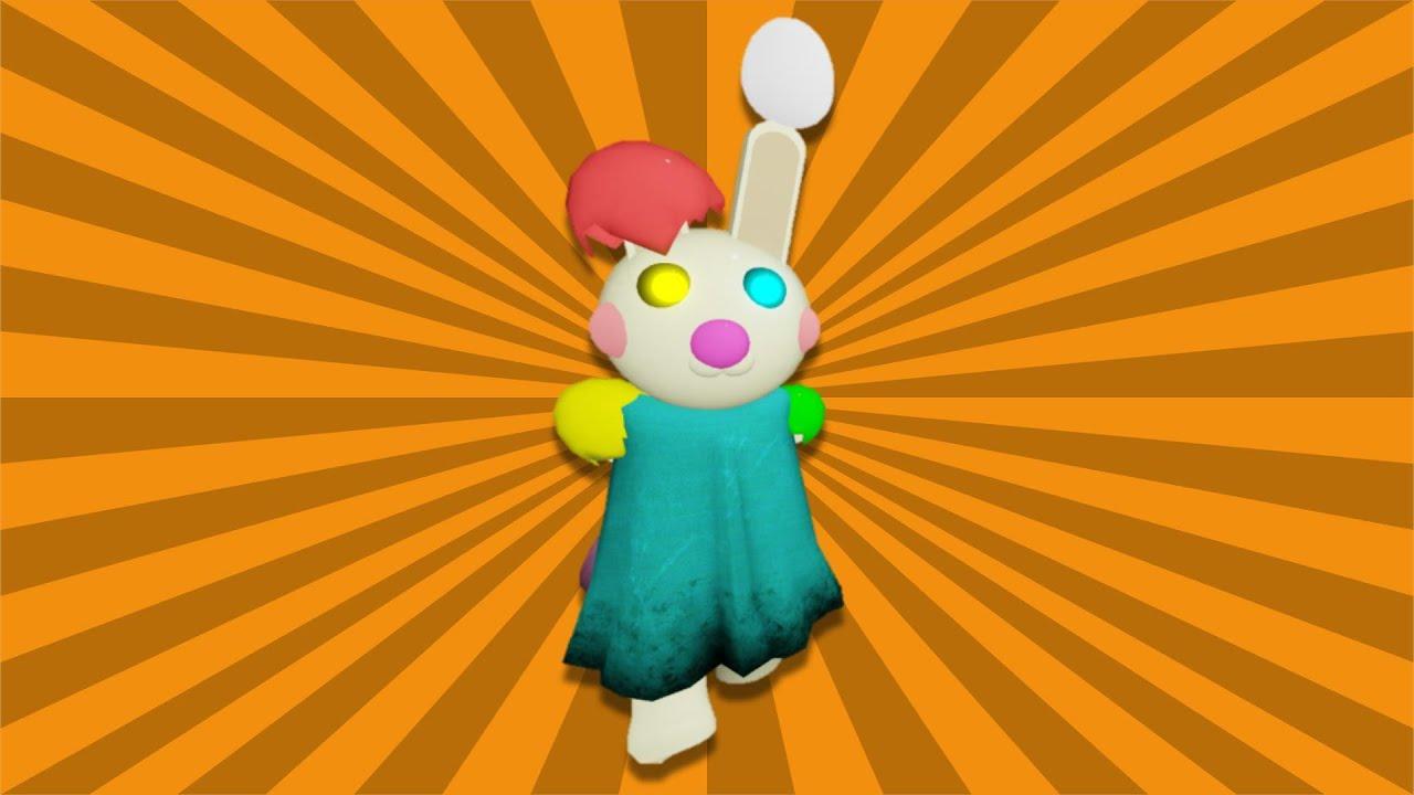 Piggy Easter Bunny Showcase Movement Kill Animation Piggy