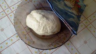 Тесто для тонкой пиццы в хлебопечке