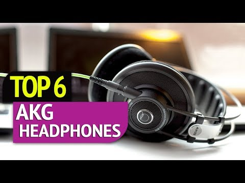TOP 6: AKG headphones 2018