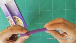 How to Use a Quilling Slotted Tool