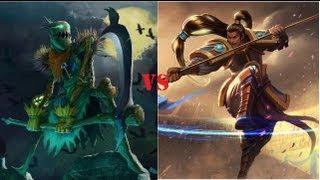 League of Legends: 1 v 1 Showdown - Xin Zhao vs Fiddlesticks