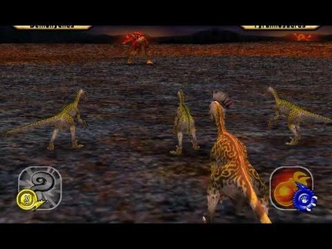Dinosaur King Arcade Game 恐竜キング - Deinonychus the Secret Dinosaur VS Operation-Dinosaur Rescue