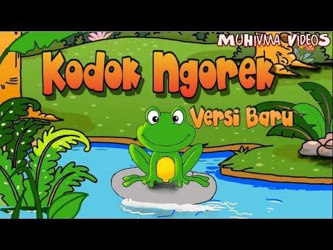 Kodok Ngorek Versi Baru - Lagu Anak Indonesia 19 - MuHivma Music VideoS - Funny Cartoon