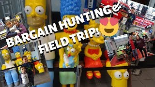 BUHAY AMERIKA:BARGAIN HUNTING & FIELD TRIP!!:D  FIL-AM FAMILY VLOG FIL-AM KIDS