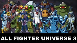 Dragon Ball Super All Member/Fighter In Universe 3