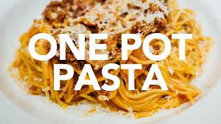 Fast One Pot Pasta - Instant Pot Pressure Cooker