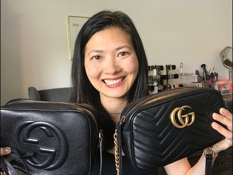 Gucci Marmont Camera Bag vs. Gucci Soho Disco Bag