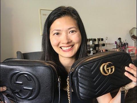 Gucci Marmont Camera Bag vs. Gucci Soho Disco Bag