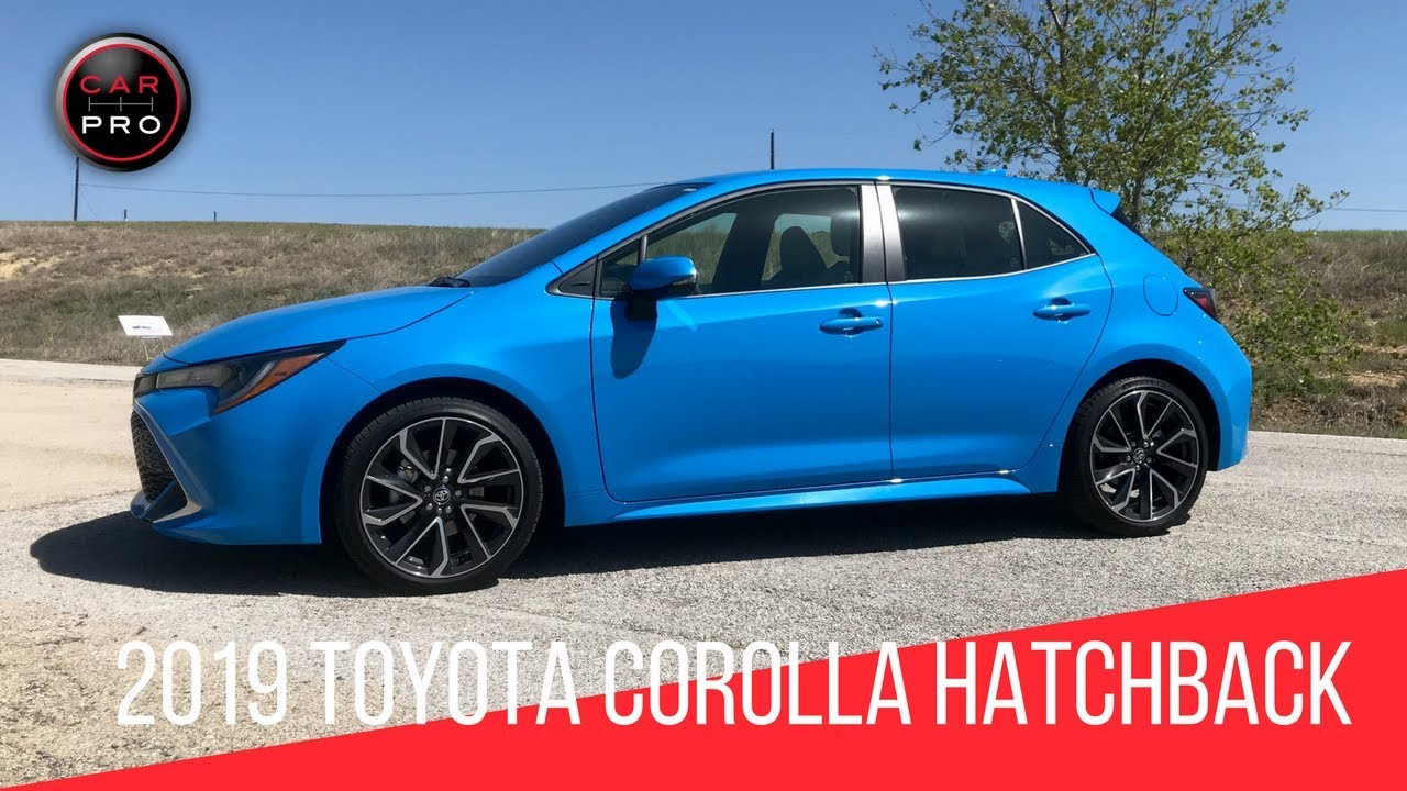 2019 toyota corolla hatchback xse first look youtube. Black Bedroom Furniture Sets. Home Design Ideas