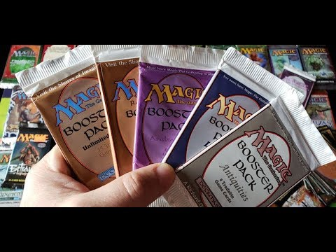 Old Magic The Gathering Booster Packs