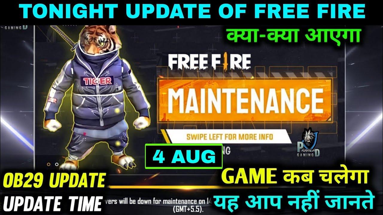 TONIGHT UPDATE OF FREE FIRE + FREE FIRE MAINTENANCE24kGoldn - Mood ❤️ ( FreeFire Highlights )