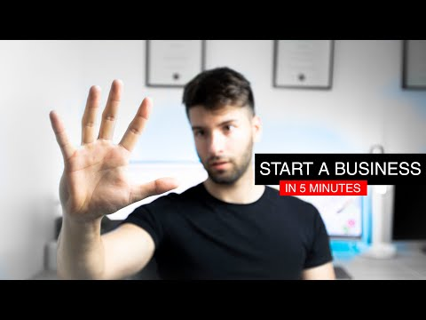 START A BUSINESS IN UNDER 5 MINS: AUSTRALIA 2019 STEP BY STEP GUIDE