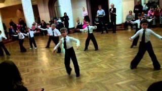 Бальные танцы 2 год обучения 14.11.2013 конкурс на открытом уроке, ча-ча-ча